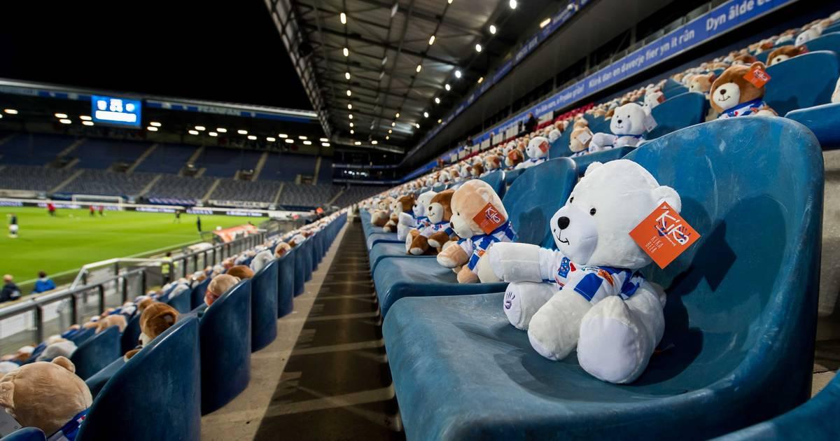 Erinnerung an krebskranke Kinder: 15.000 Teddybären vertreten Fans auf der Tribüne