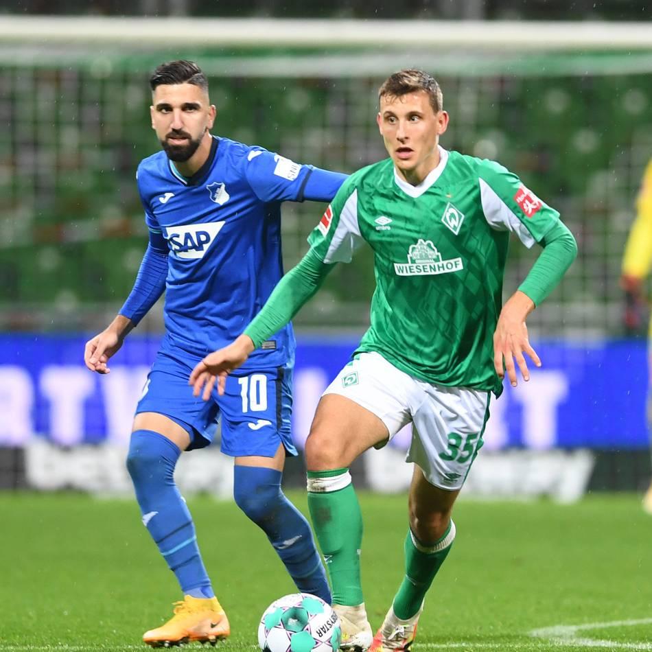 Bremen - Hoffenheim 1:1: Werder verpasst den Sprung auf Platz vier