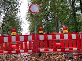 Sanierung der Kreisstraße läuft: Strecke nach Haldern länger gesperrt