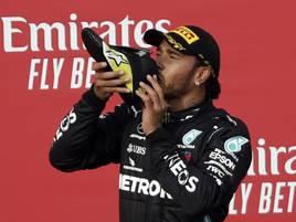 Formel 1: Hamilton gewinnt auch in Imola - Mercedes wieder Konstrukteursweltmeister