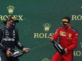 Dritter in Istanbul: Vettel nach über einem Jahr zurück auf dem Podium