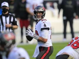 Nach Klatsche: Brady führt Buccaneers zu Sieg gegen die Panthers