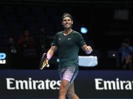 Sieg gegen Titelverteidiger: Nadal unter den besten Vier der ATP Finals