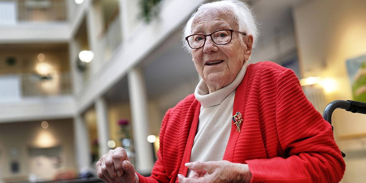 """89-Jährige aus Hilden: """"Es gibt Schlimmeres als Corona-Schutzmaßnahmen"""""""