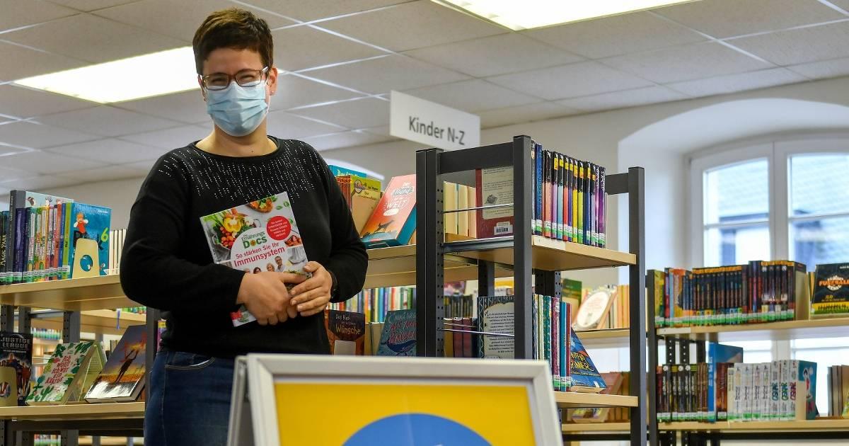Stadtbibliothek Kempen in Corona-Zeiten: Das Bibliotheks-Angebot ist sehr gefragt