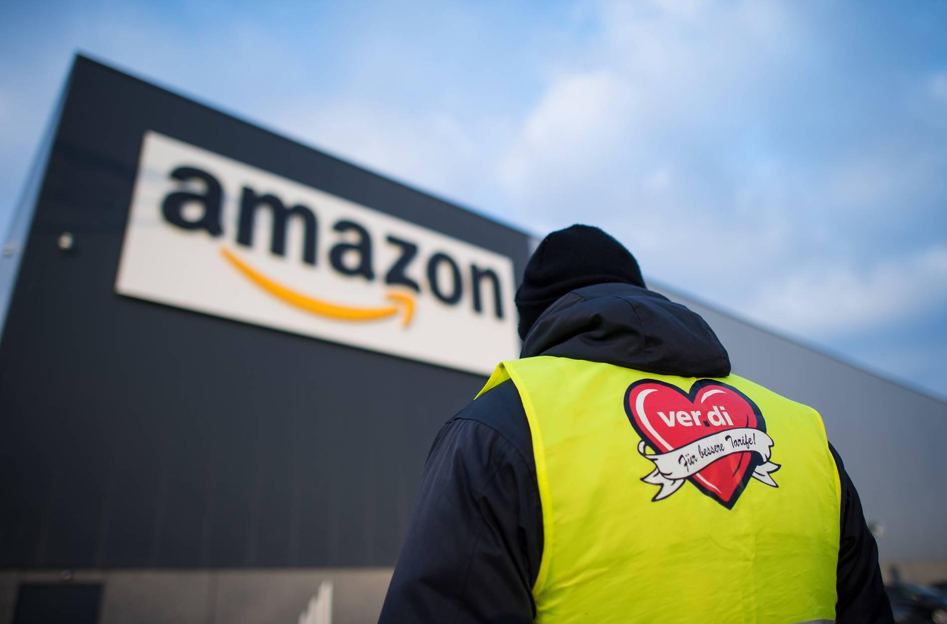 Verdi: Amazon-Beschäftigte in NRW streiken an zwei Standorten