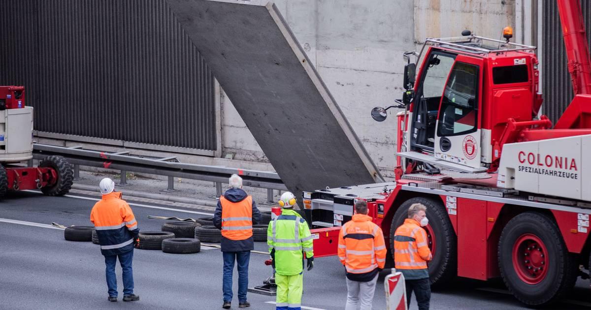 Nach-t-dlichem-Unfall-auf-A3-Diese-25-L-rmschutzw-nde-in-NRW-werden-berpr-ft