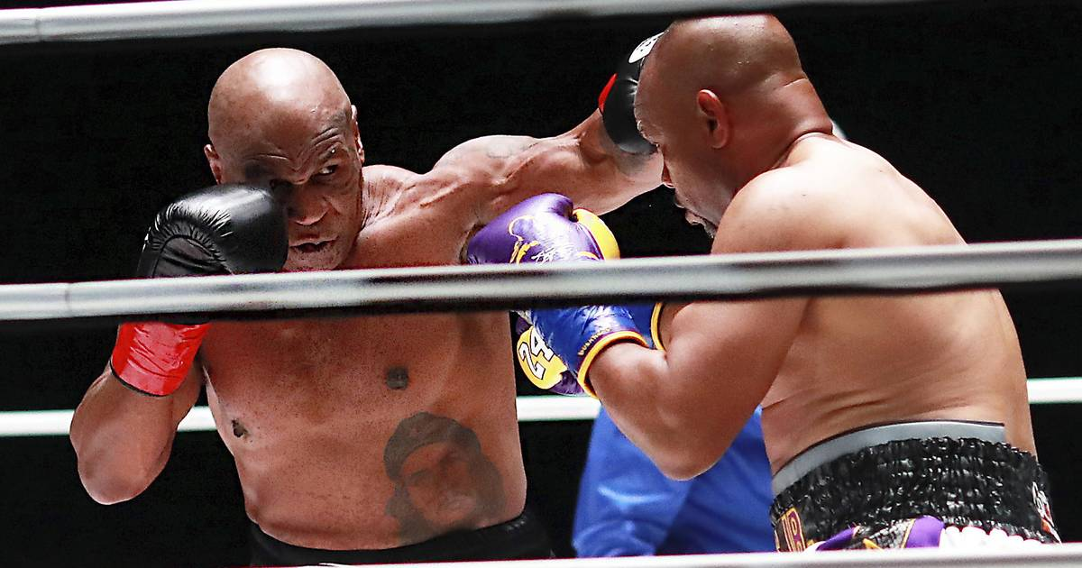 Box Verband WBC: Kein Sieger im Duell Box-Opas Mike Tyson...