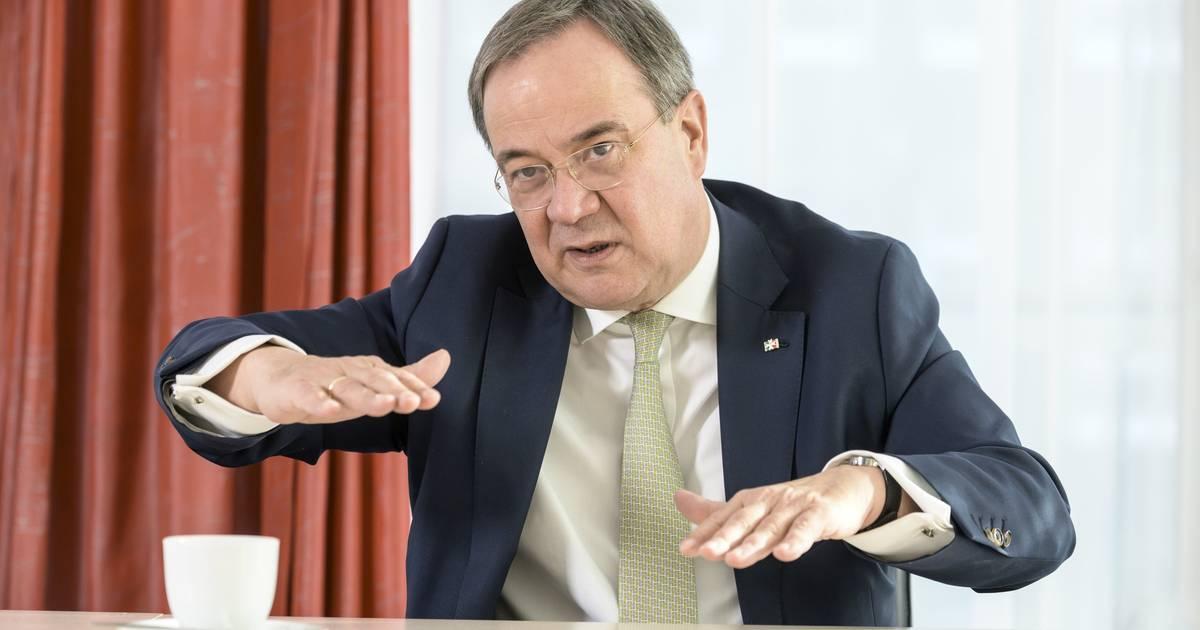 """Interview mit NRW-Ministerpräsident Armin Laschet: """"Noch ein weiteres Jahr wie dieses halten Gesellschaft und Wirtschaft nicht durch"""""""