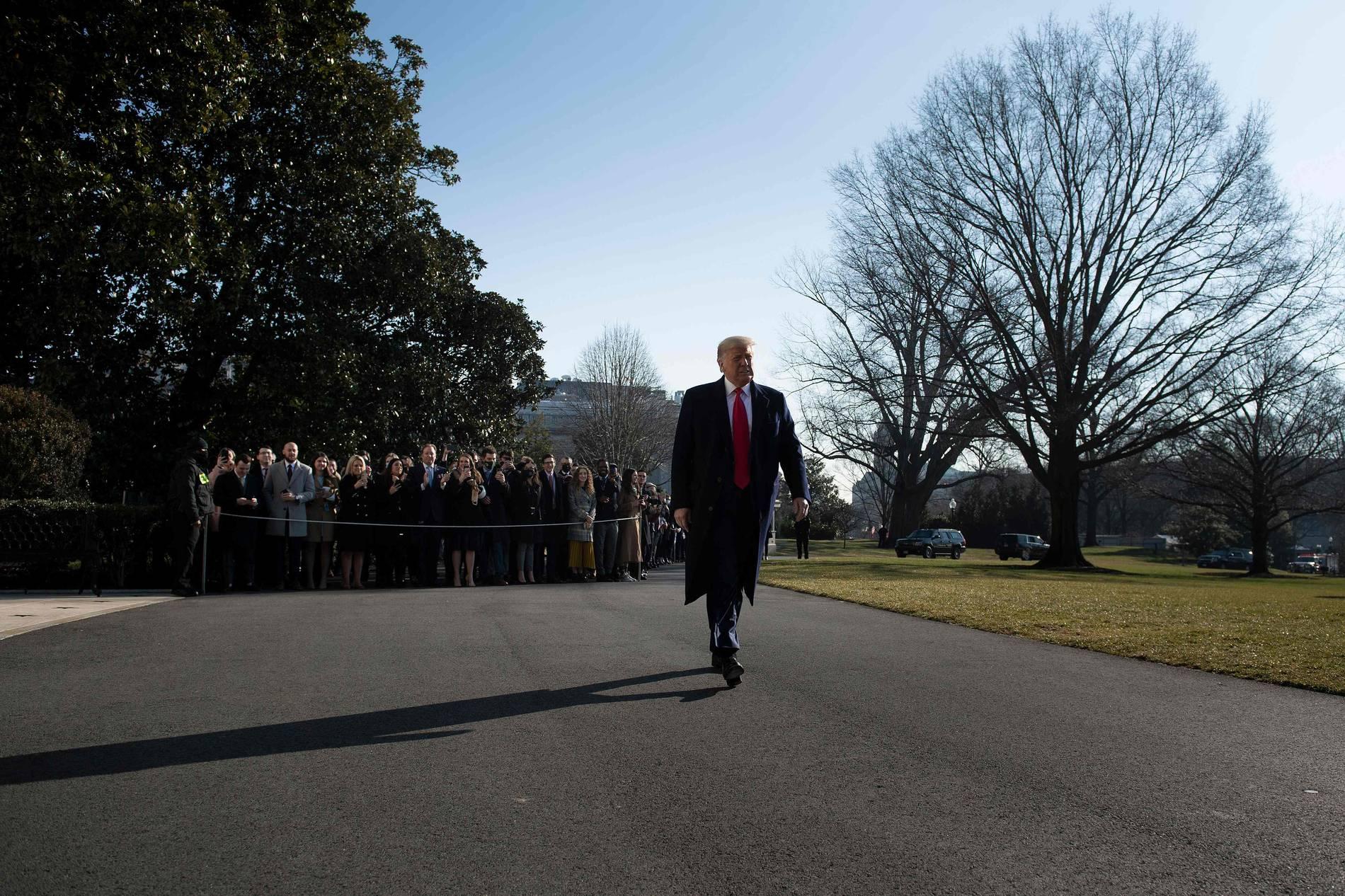 Donald Trump - US-Präsident verteidigt Rede vor Erstürmung des Kapitols
