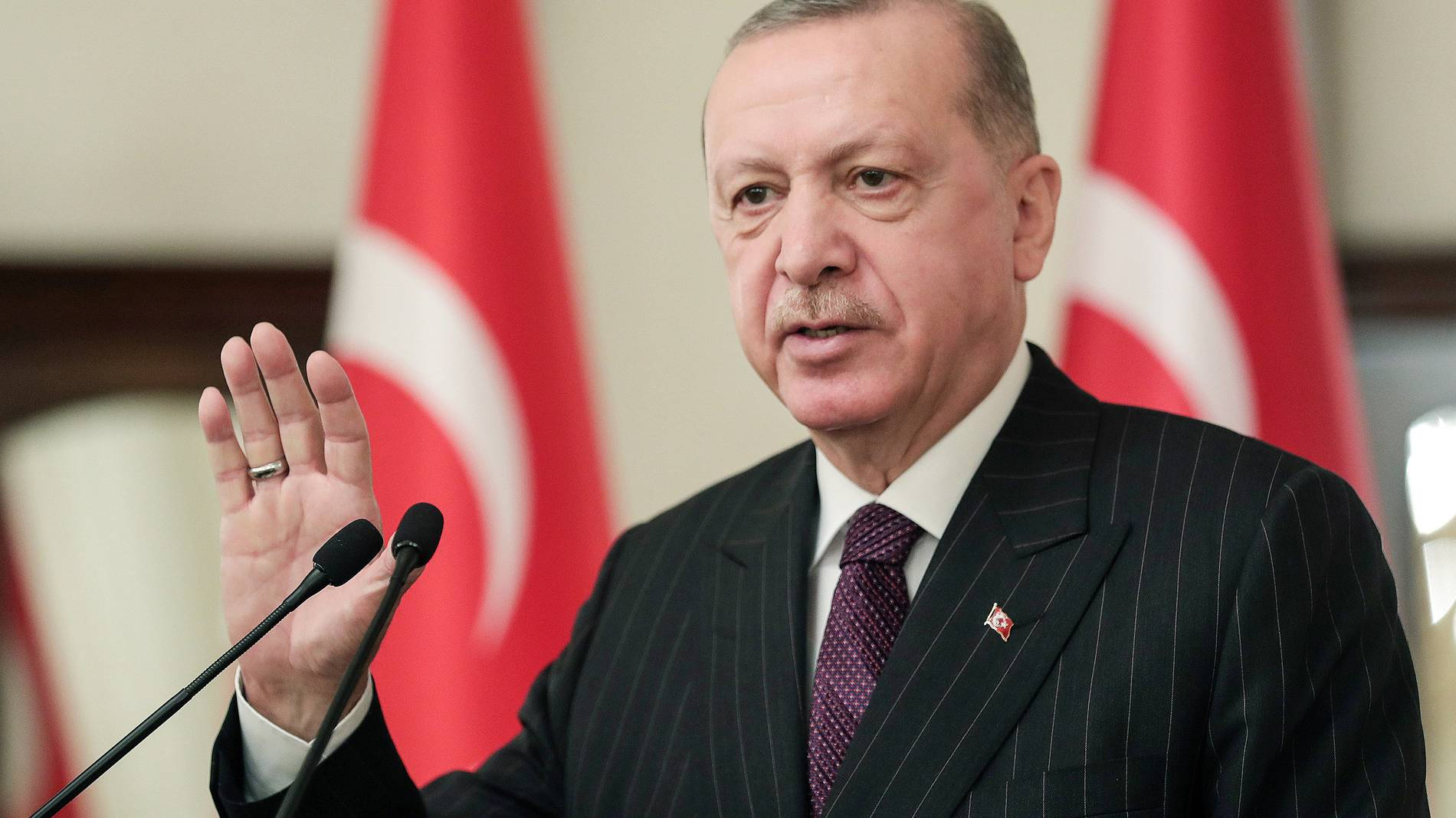 türkei: recep tayyip erdogan reicht der eu die hand