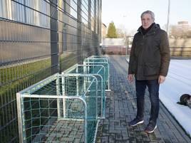 Zerstörte Tore: Vandalismus im Grevenbroicher Schlossstadion