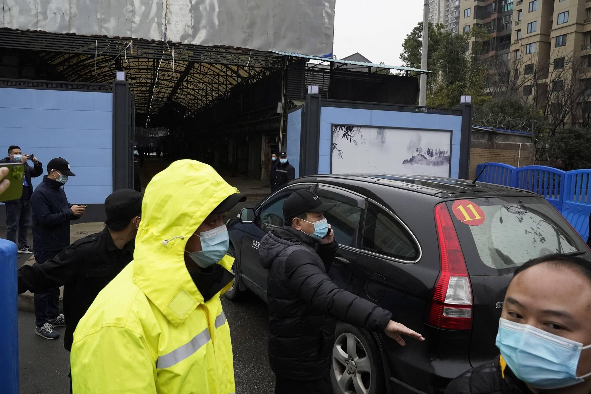WHO-Team traf Behörden in Wuhan