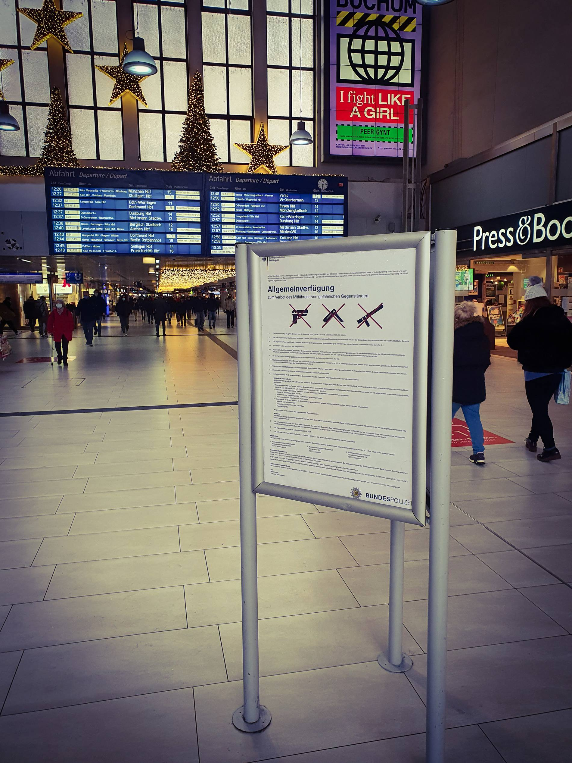 Bundespolizei Düsseldorf Hauptbahnhof